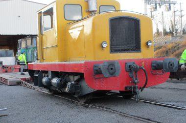 locotracteur déchargé