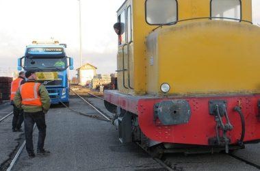 équipe locotracteur